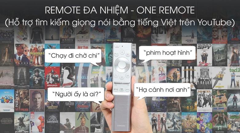 One Remote Tivi QLED Samsung QA65Q800T