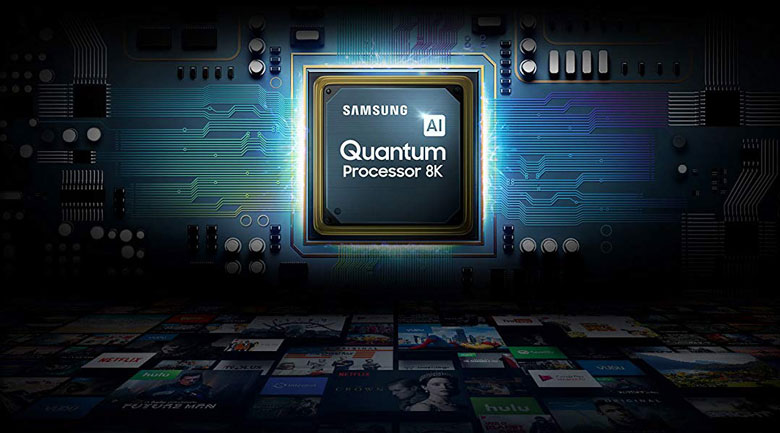 Smart Tivi QLED Samsung 8K 65 inch QA65Q800T - chip quantum 8k
