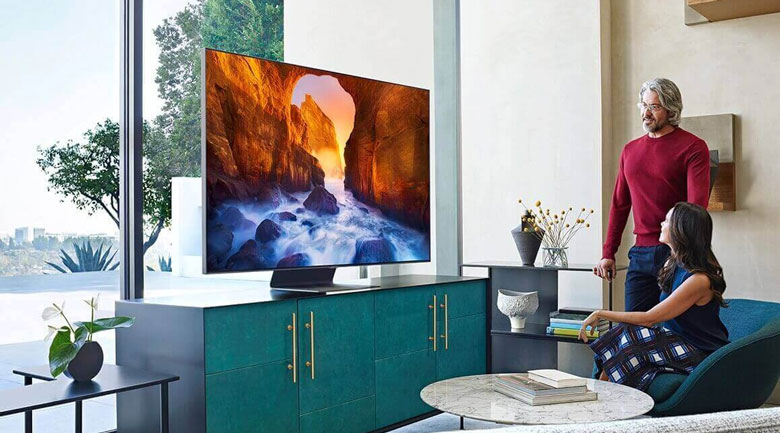 Smart Tivi QLED Samsung 8K 65 inch QA65Q800T - thiết kế