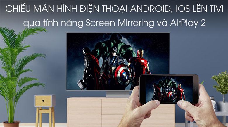 Smart Tivi QLED Samsung 8K 65 inch QA65Q800T - trình chiếu màn hình