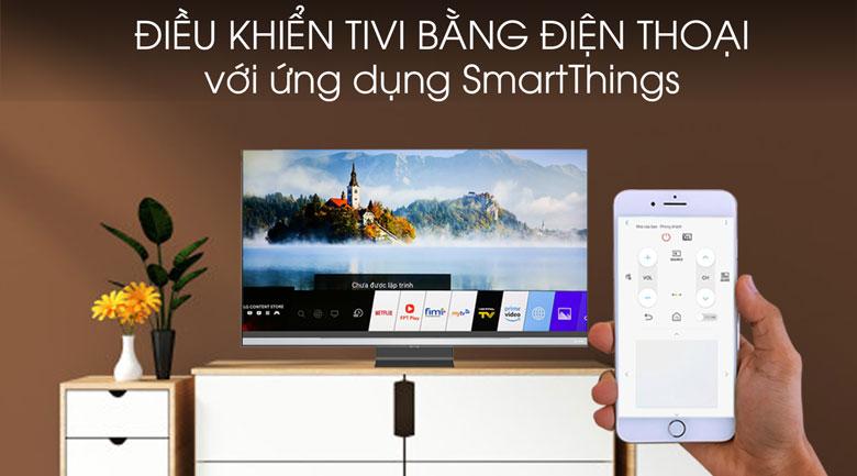 Smart Tivi QLED Samsung 4K 65 inch QA65Q95T - SmartThings