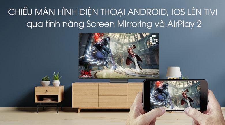 Smart Tivi QLED Samsung 4K 55 inch QA55Q95T - Chiếu màn hình