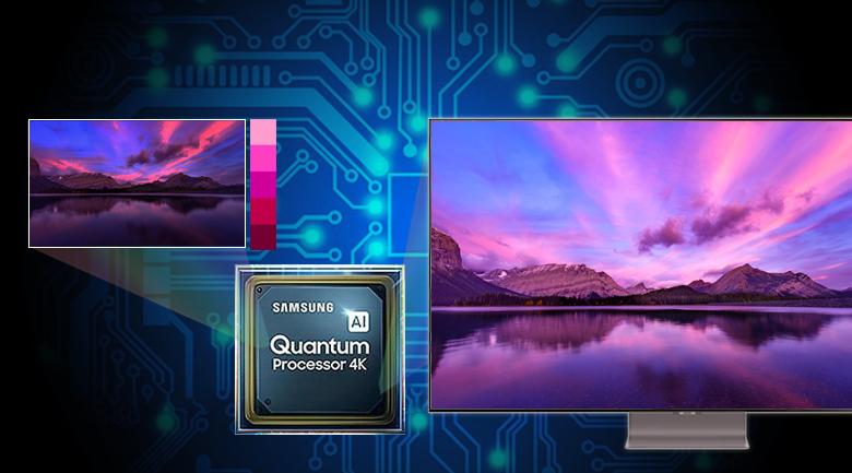 Smart Tivi QLED Samsung 4K 55 inch QA55Q95T - Quantum 4K