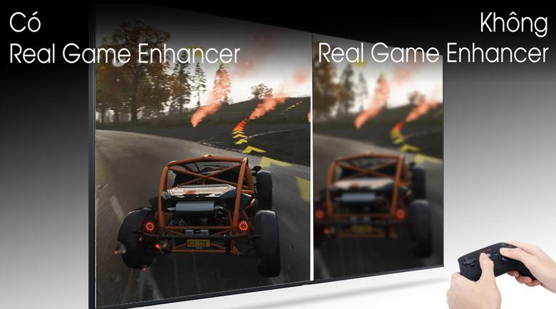 Real game Enhancer-Smart Tivi QLED Samsung 4K 85 inch QA85Q80T