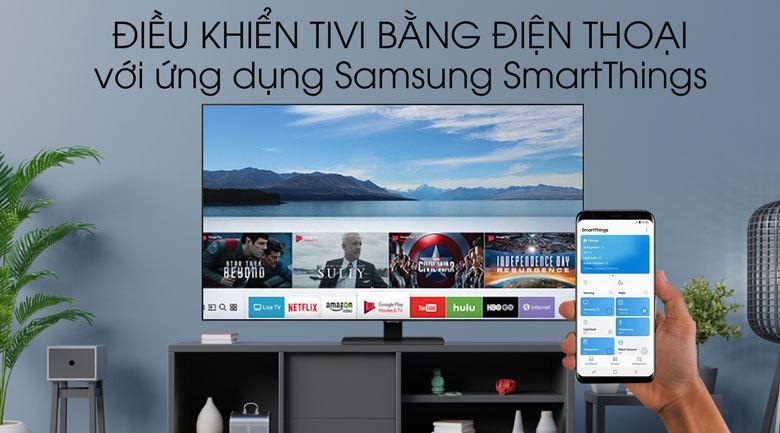 SmartThings-Smart Tivi QLED Samsung 4K 85 inch QA85Q80T