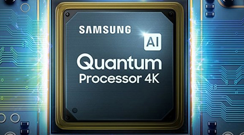 Bộ xử lý Quantum Processor 4K - Smart Tivi QLED Samsung 4K 75 inch QA75Q80T