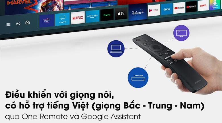 One Remote - Tivi QLED Samsung QA75Q80T