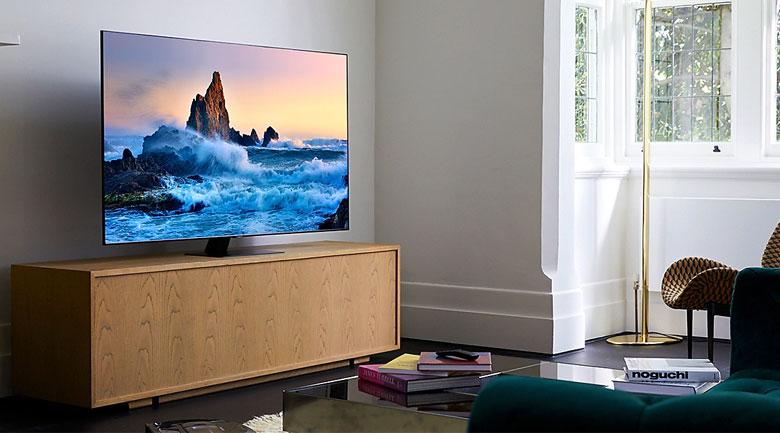 Smart Tivi QLED Samsung 4K 75 inch QA75Q80T