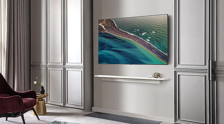 Treo tường - Smart Tivi QLED Samsung 4K 75 inch QA75Q80T