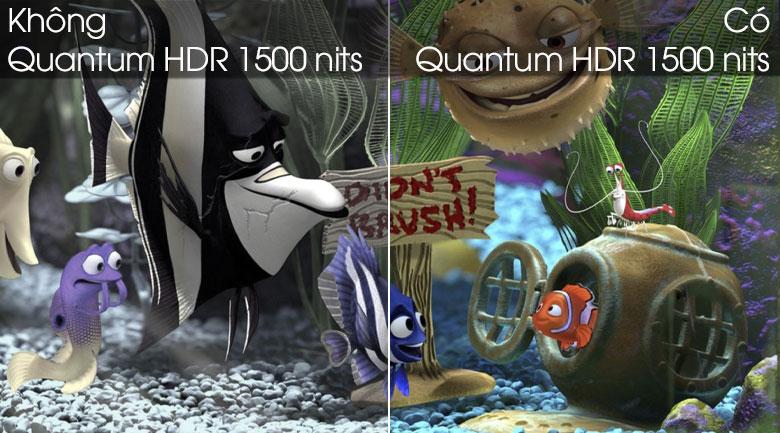Quantum HDR 1500 nits - Smart Tivi QLED Samsung 4K 65 inch QA65Q80T