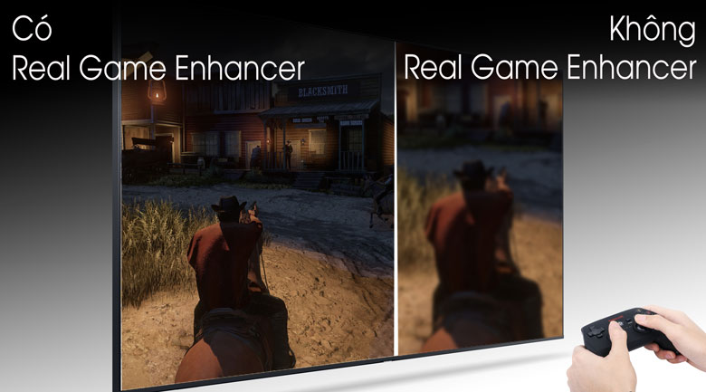 Real Game Enhancer - Smart Tivi QLED Samsung 4K 65 inch QA65Q80T