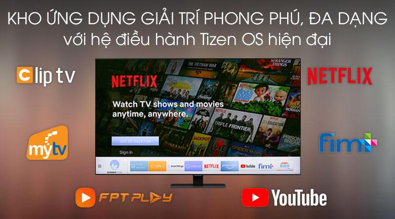 Tizen OS - Smart Tivi QLED Samsung 4K 65 inch QA65Q80T