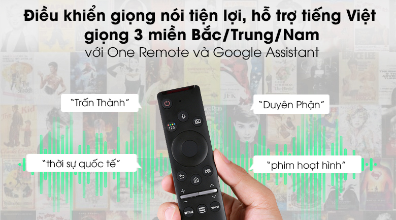 One Remote - Smart Tivi QLED Samsung 4K 65 inch QA65Q80T