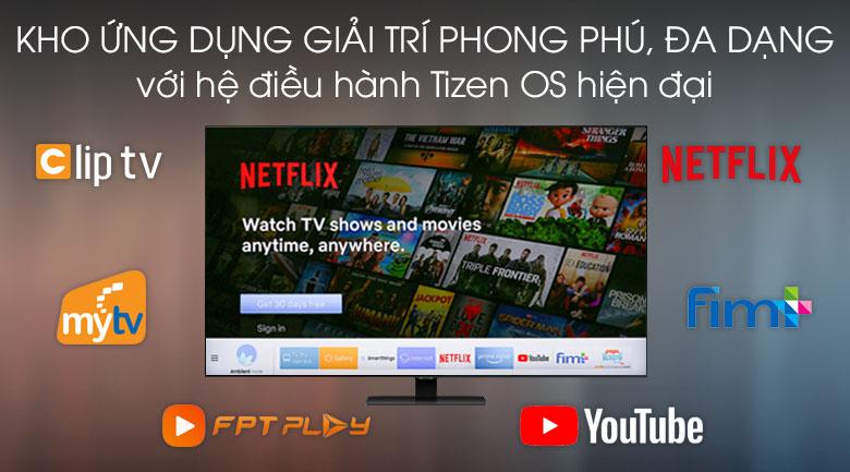 Tizen OS - Smart Tivi QLED Samsung 4K 55 inch QA55Q80T