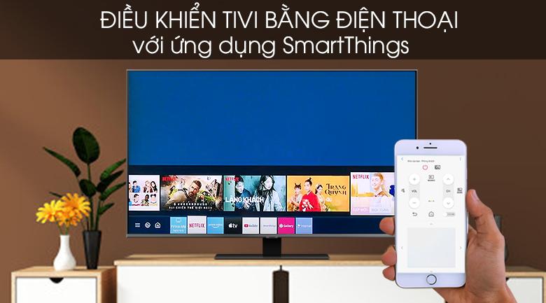 SmartThings - Smart Tivi QLED Samsung 4K 55 inch QA55Q80T