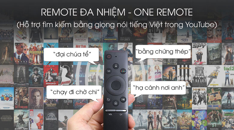 One Remote - Smart Tivi QLED Samsung 4K 49 inch QA49Q80T