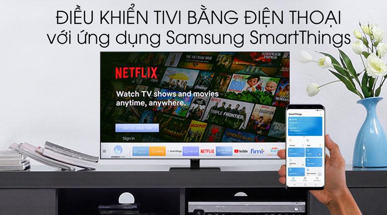 SmartThings - Smart Tivi QLED Samsung 4K 49 inch QA49Q80T
