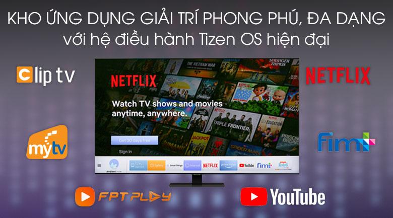 Tizen OS - Smart Tivi QLED Samsung 4K 49 inch QA49Q80T