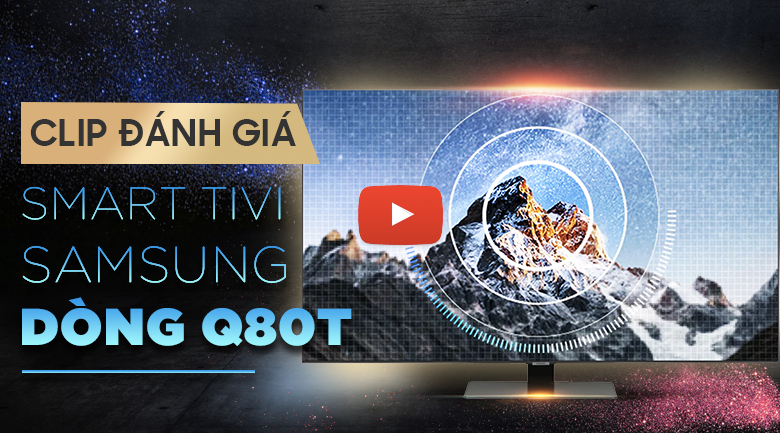 Smart Tivi QLED Samsung 4K 49 inch QA49Q80T