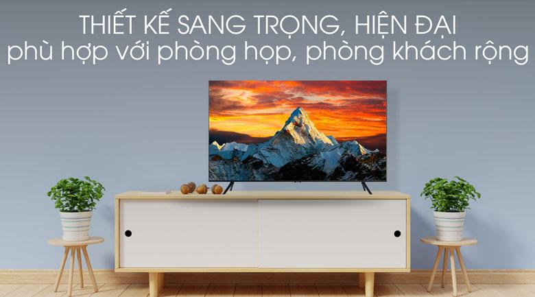 Thiết kế-Smart Tivi Samsung 4K 75 inch UA75TU8100