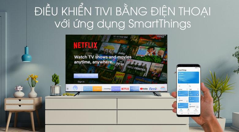 SmartThing-Smart Tivi Samsung 4K 75 inch UA75TU8100