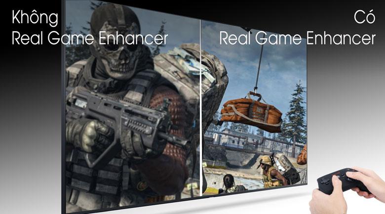 Real game Enhancer - Smart Tivi Samsung 4K 75 inch UA75TU8100