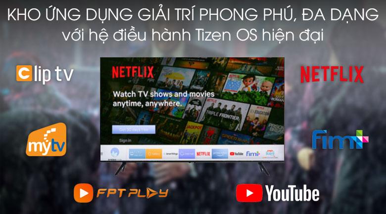 hệ điều hành-Smart Tivi Samsung 4K 65 inch UA65TU8100