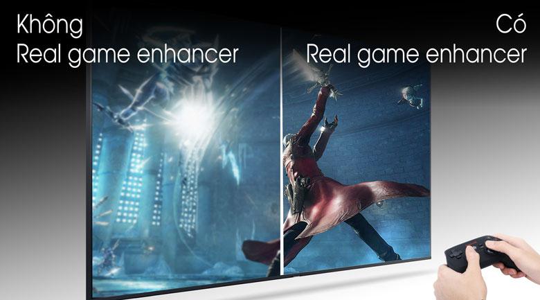 Real game enhancer - Smart Tivi Samsung 4K 65 inch UA65TU8100