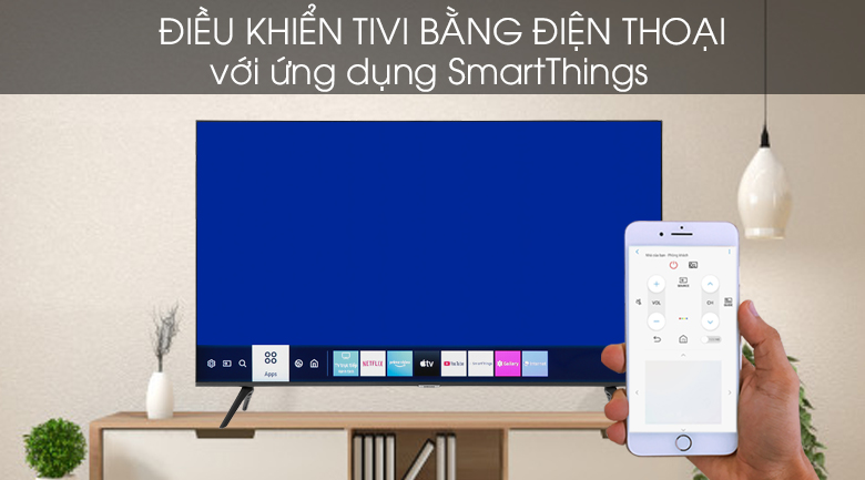 Smart Tivi Samsung 4K 65 inch UA65TU8100 - SmartThings