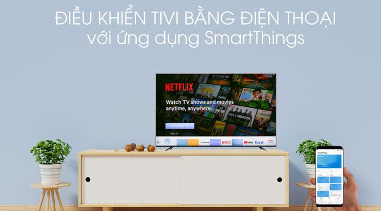 SmartThing-Smart Tivi Samsung 4K 65 inch UA65TU8100