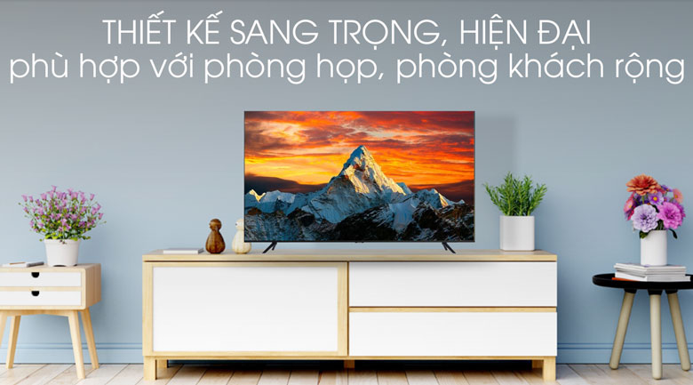 thiết kế-Smart Tivi Samsung 4K 65 inch UA65TU8100
