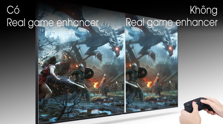 Real Game Enhancer - Smart Tivi Samsung 4K 55 inch UA55TU8100