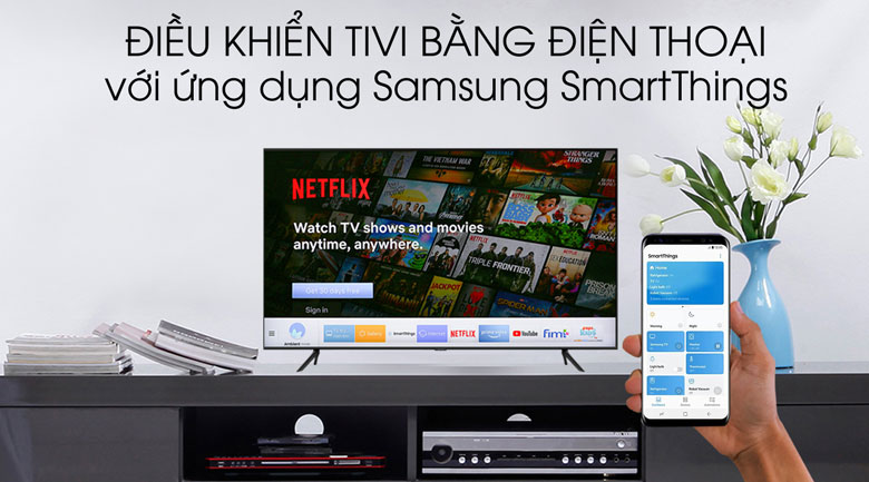 SmartThings - Smart Tivi Samsung 4K 55 inch UA55TU8100
