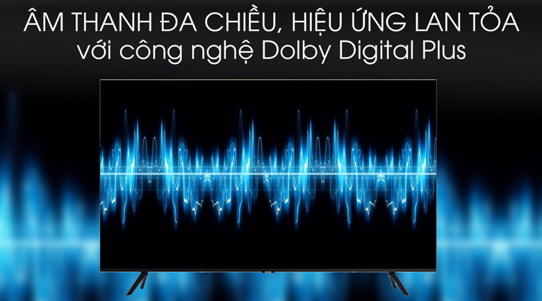 Dolby digital plus - Smart Tivi Samsung 4K 50 inch UA50TU8100