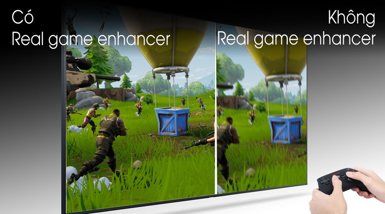 Real Game Enhancer - Tivi LED Samsung UA50TU8100