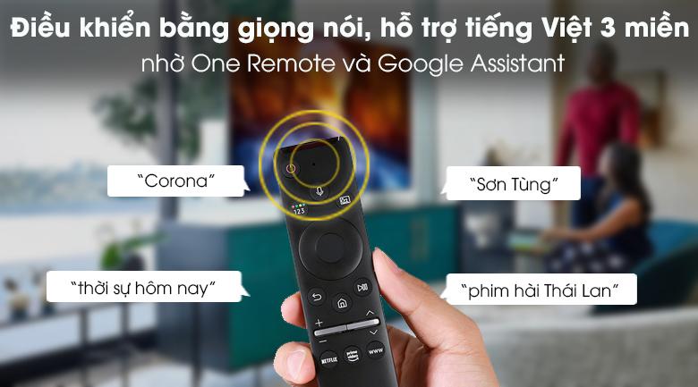 One remote - Smart Tivi Samsung 4K 50 inch UA50TU8100