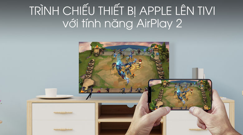 Airplay 2 -Smart Tivi Samsung 4K 43 inch UA43TU8100