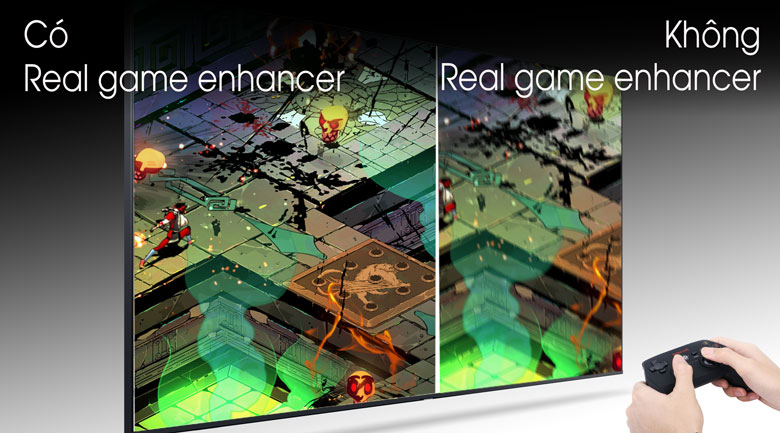 Real Game Enhancer - Tivi LED Samsung UA43TU8100