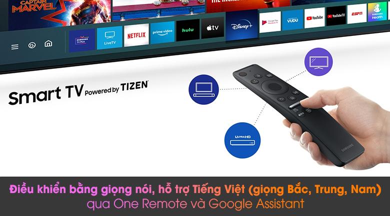 Điều khiển bằng giọng nói TV thông qua One Remote