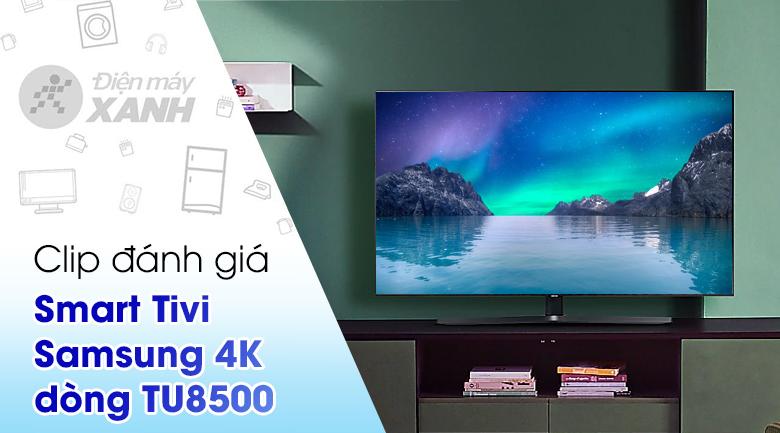 Smart Tivi Samsung 4K Crystal UHD 65 inch UA65TU8500