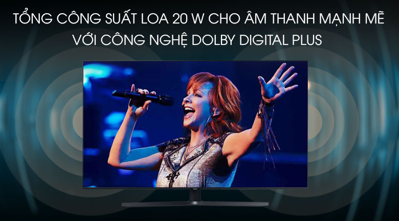 Smart Tivi Samsung 4K 65 inch UA65TU8500 - Dolby Digital Plus