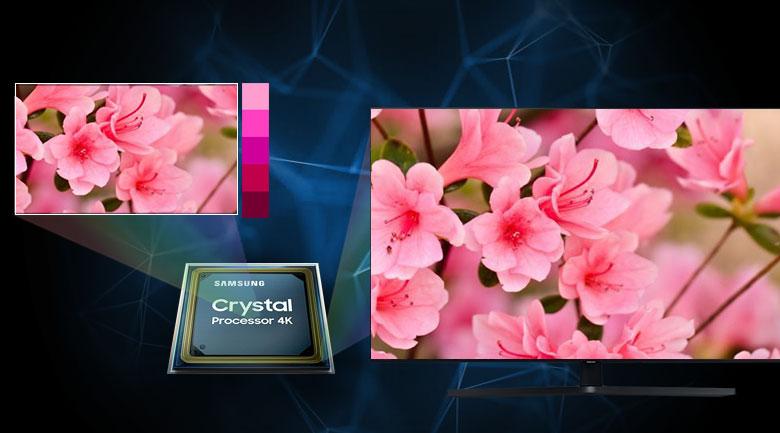 Smart Tivi Samsung 4K 65 inch UA65TU8500 - bộ xử lý Crystal 4K