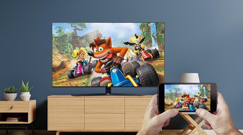 Smart Tivi Samsung 4K 65 inch UA65TU8500 - Chiếu màn hình