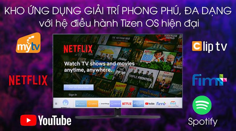 Smart Tivi Samsung 4K 43 inch UA43TU8500 - Hệ điều hành Tizen Os