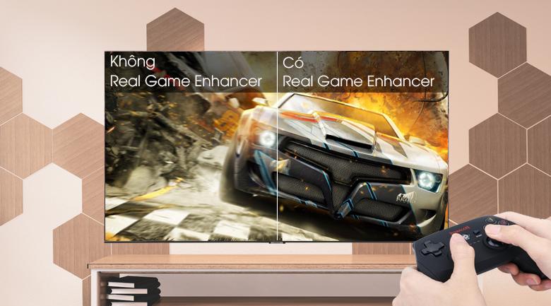Smart Tivi Samsung 4K 43 inch UA43TU8500 - công nghệ Real Game Enhancer+