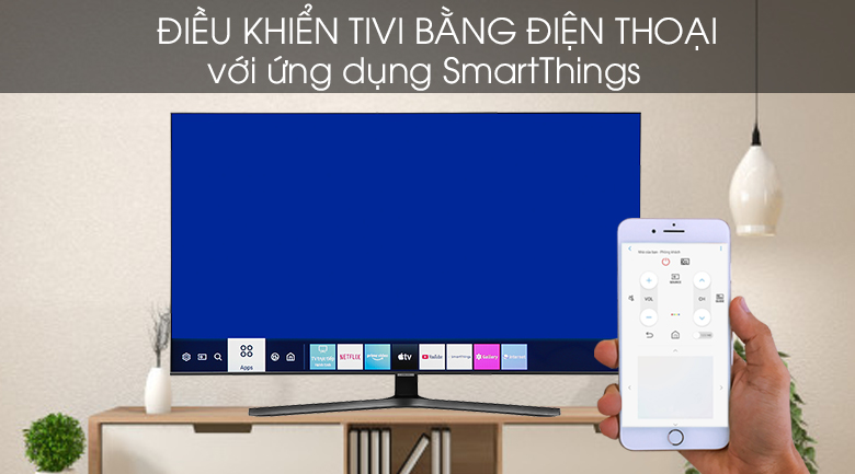 Smart Tivi Samsung 4K 43 inch UA43TU8500 - SmartThings