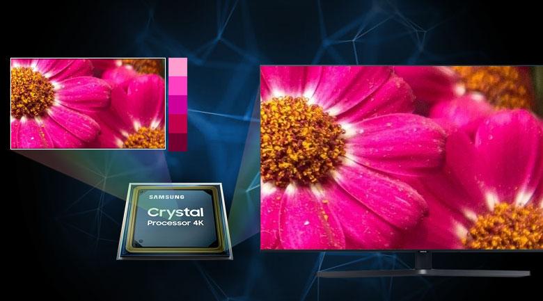 Smart Tivi Samsung 4K 43 inch UA43TU8500 - Bộ xử lý Crystal 4K