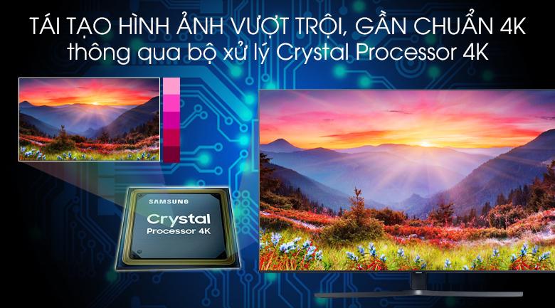 Smart Tivi Samsung 4K 43 inch UA43TU8500 - Crystal Processor 4K