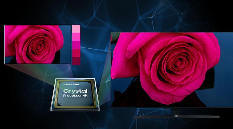 Smart Tivi Samsung 4K 55 inch UA55TU8500 - Bộ xử lý Crystal 4K