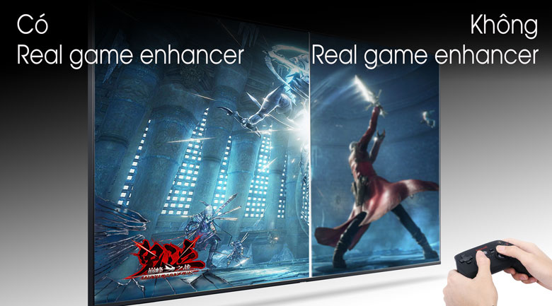 Smart Tivi Samsung 4K 55 inch UA55TU8500 - Real Game Enhancer